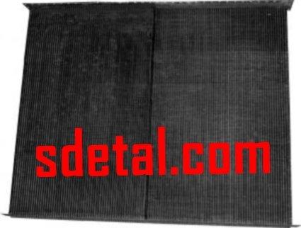 Сердцевина радиатора К-700 К-701 2-х рядная